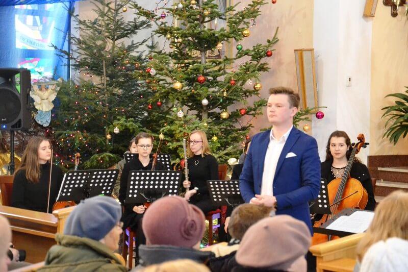 Maciej Tymkiewicz dyrygent Chóru Lumen Christi